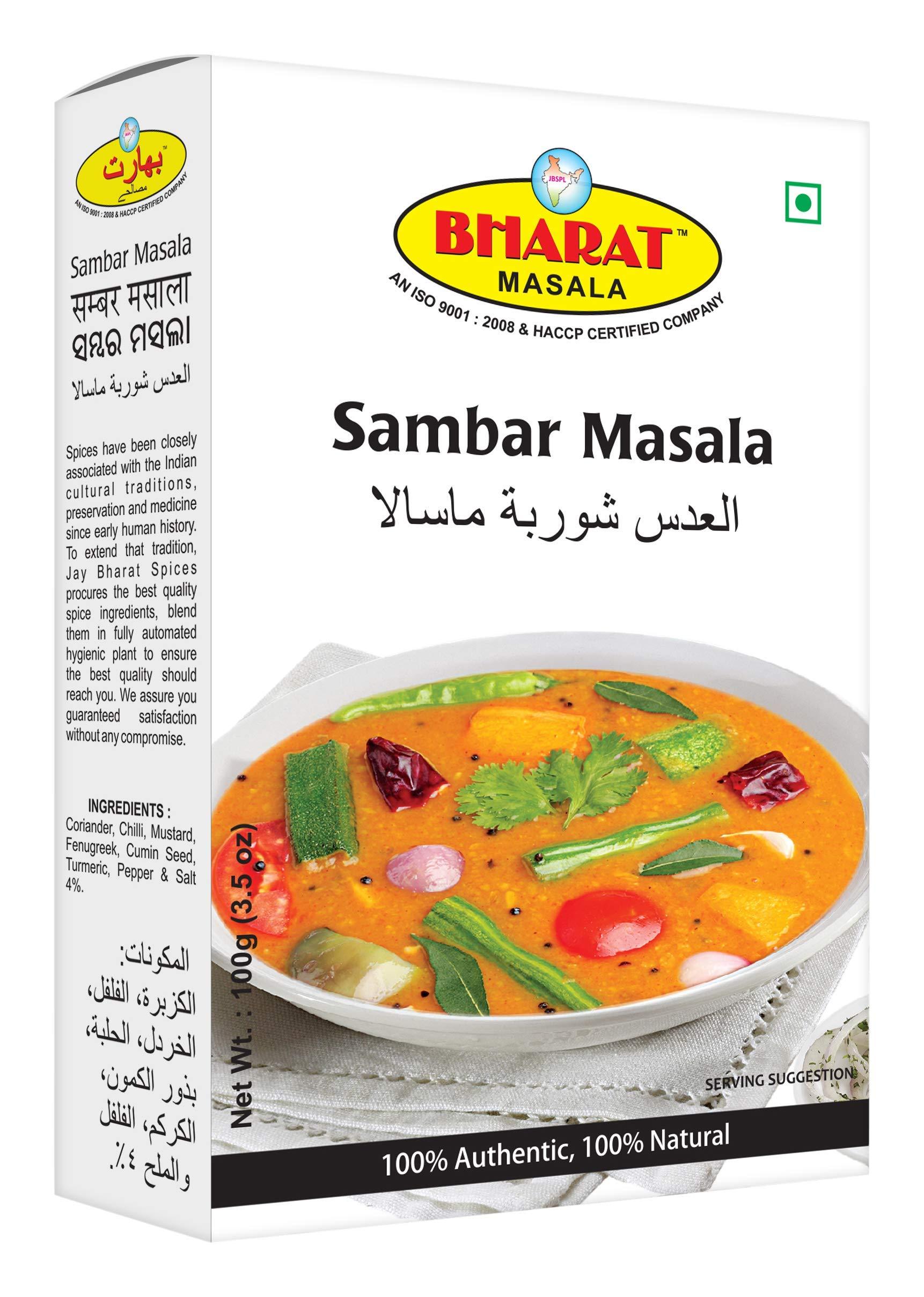 BHARAT MASALA Sambar Powder, 100 Grams