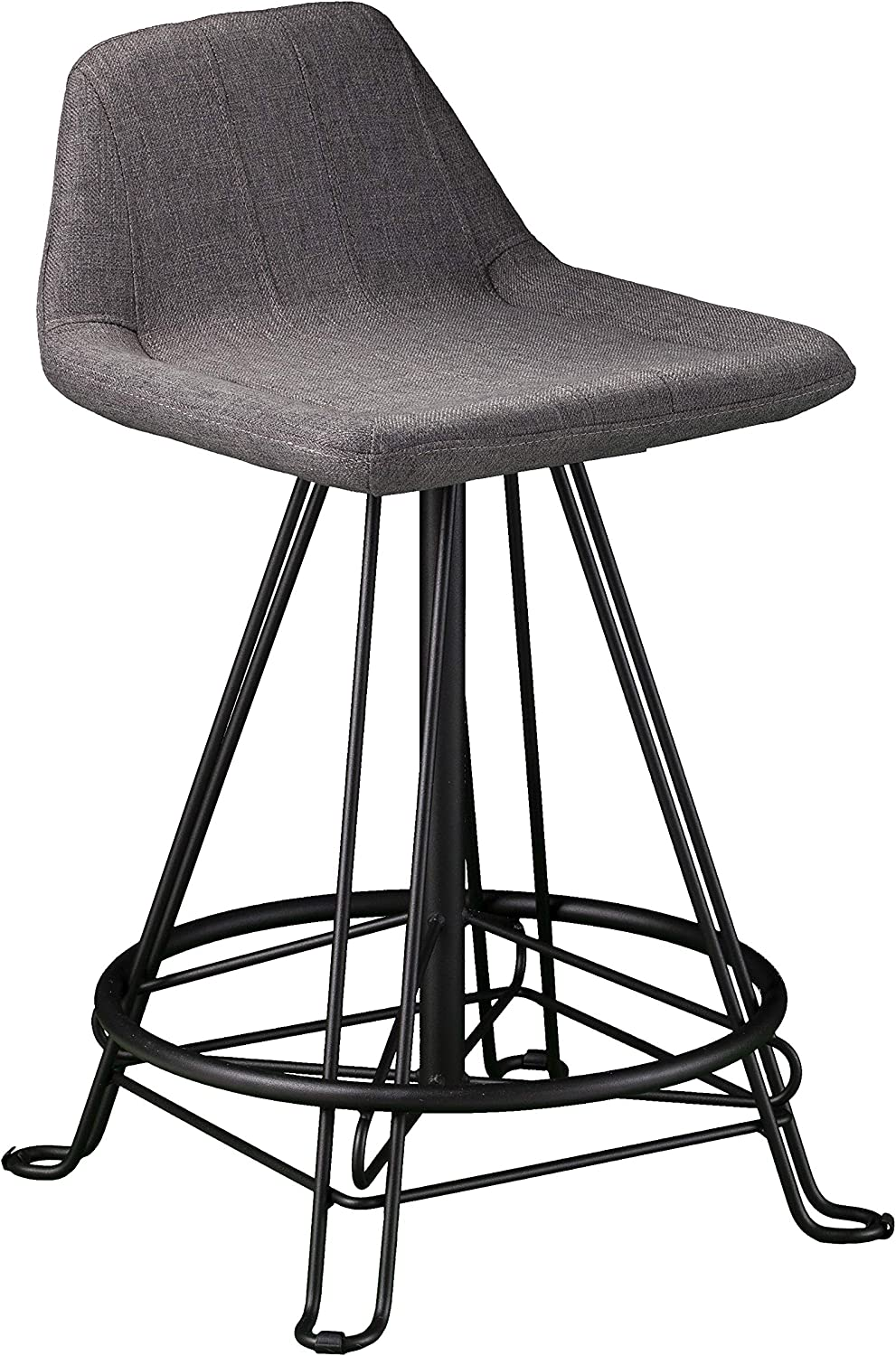 Best Sneakers 4cdff D5b4f Grey Bar Stools With Backs