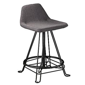 Terrific Amazon Com Furniture Hotspot Gray Fabric Eiffel Counter Pdpeps Interior Chair Design Pdpepsorg