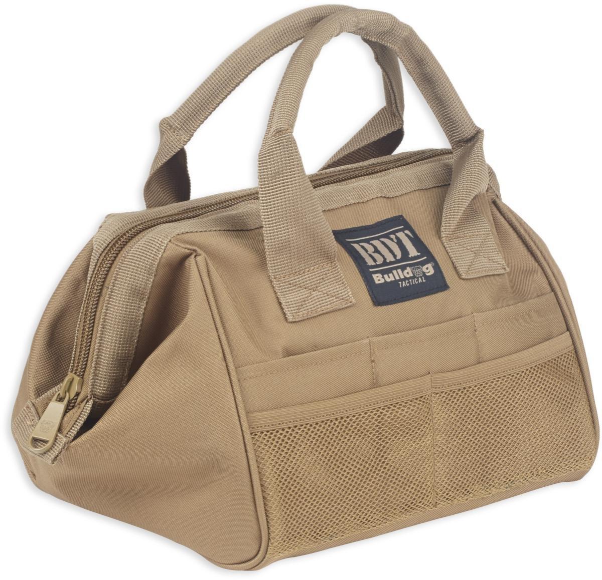 Bulldog Cases BDT405B Tactical, Range Bag, Black, Nylon, Medium