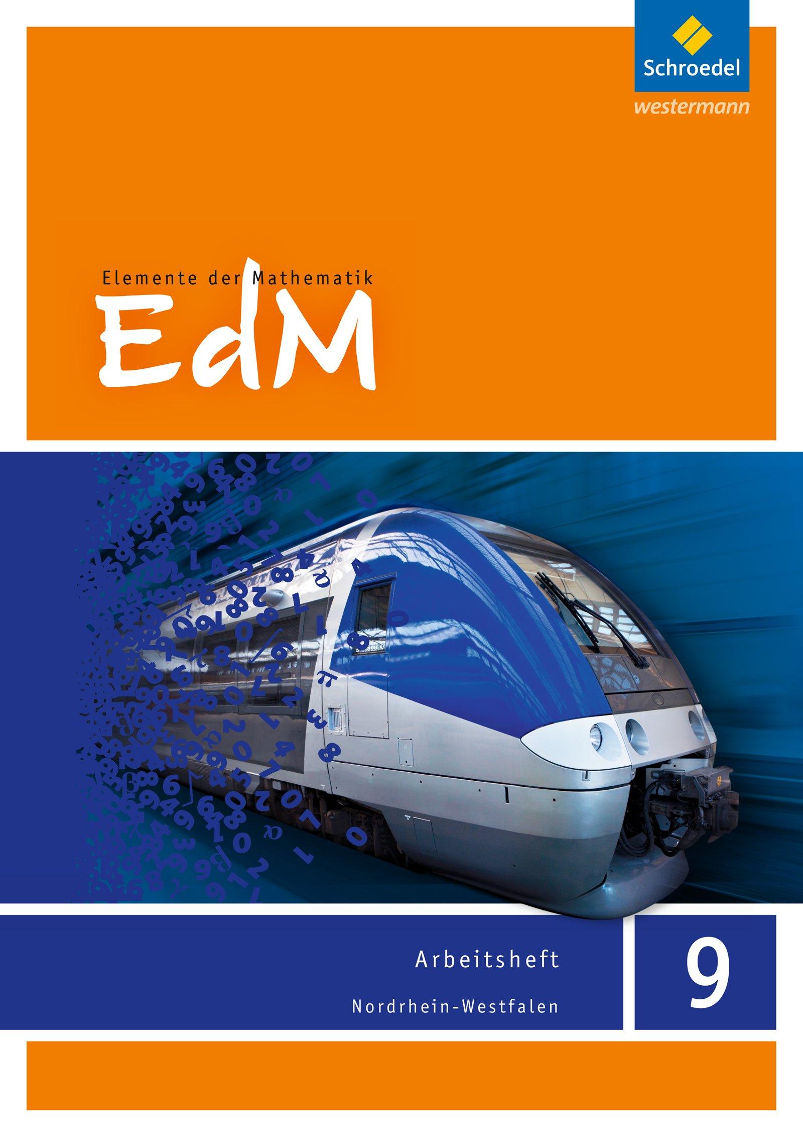 Elemente der Mathematik SI - Ausgabe 2012 für Nordrhein-Westfalen: Arbeitsheft 9