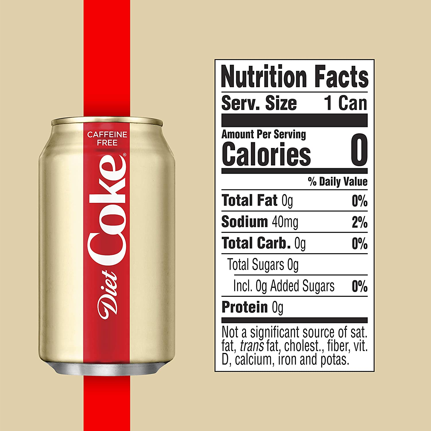 how much caffeine is in a diet cola