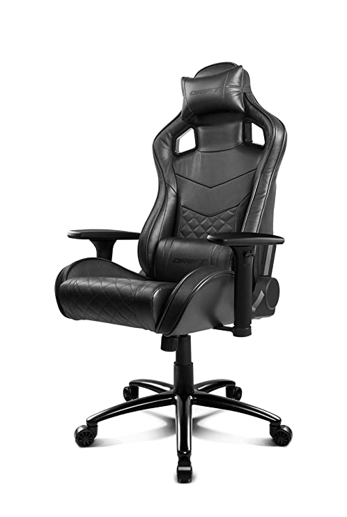 Drift DR450 - DR450BK - Silla Gaming, Color Negro