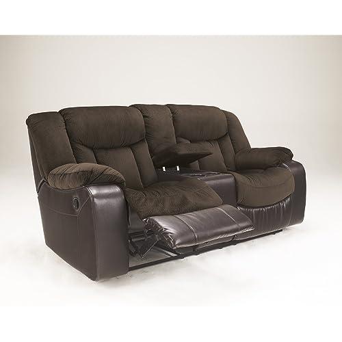 Ashley Furniture Comcom: Dual Reclining Loveseat: Amazon.com
