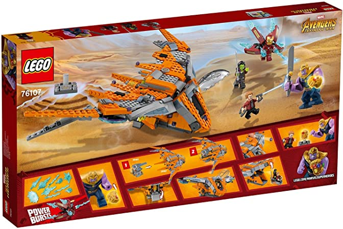 Lego Marvel Avengers Star Lord aus  SET 76107 NEU!