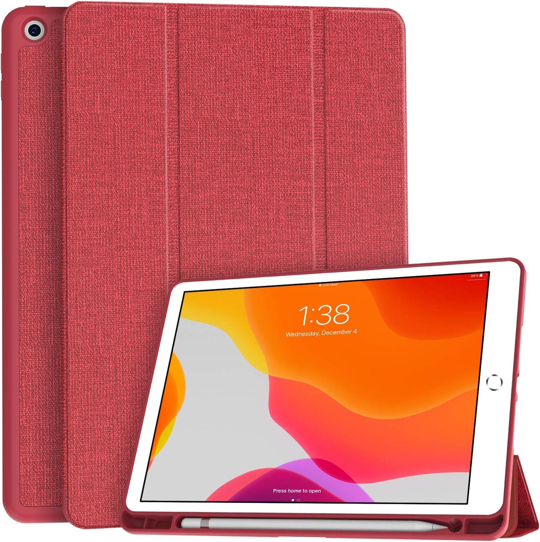 Funda Soke para iPad 10.2 8va/7ma Generación Roja