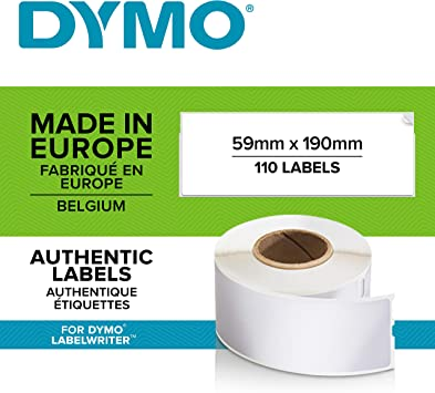 50 Rolls Small 700 Labels White Thermal Compatible w// Dymo 30915 Internet Shipping