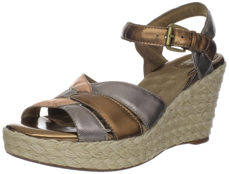 Softwalk St Helena Damen Metallische Leder Keil Keil Keil Sandalen Schuhe Neu EU 42 1fab9e