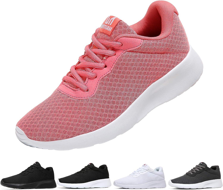 MAlITRIP Womens Mesh Comfort Walking Shoes Lightweight Size US6.5-US11
