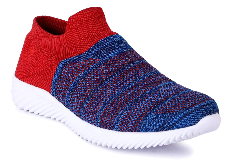 AADI Men's Blue Mesh Casual Shoes