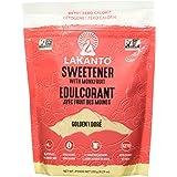 Lakanto Monkfruit Sweetener, 1:1 Sugar Substitute, Keto, Non-GMO (Golden - 8.29 ounces)