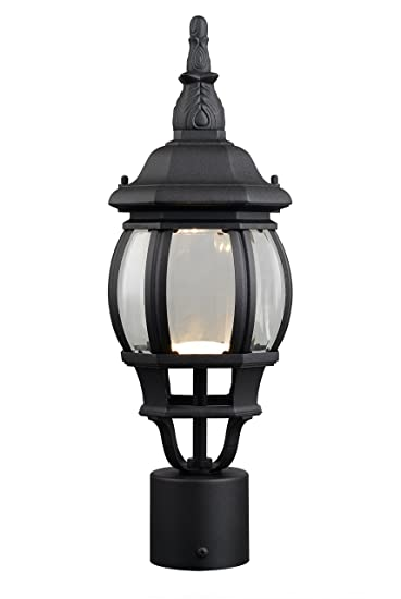 Design house 578675 canterbury ii led outdoor post top light black design house 578675 canterbury ii led outdoor post top light black aloadofball Image collections
