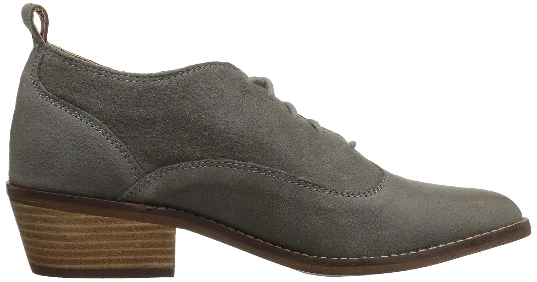 Lucky Brand Womens Fantine Fashion Boot Steel Grey 9.5 Medium US
