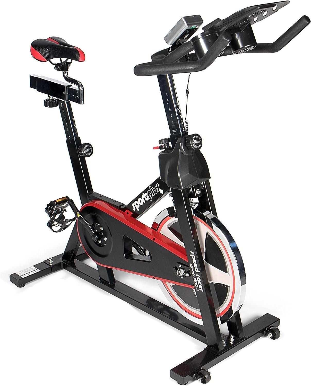 Sportplus Bicicleta Estática/Speedbike con Soporte para Tablets ...