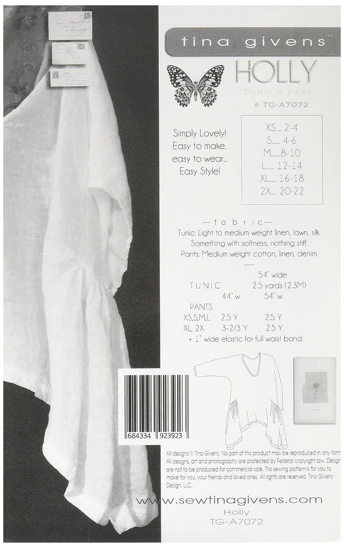 Amazon.com: Tina Givens 7072 Pattern Sewing, Multicolor: Arts ...