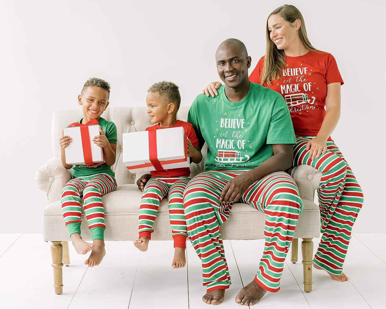 Snowflakes Sleepyheads Holiday Family Matching Pajama PJ Sets Christmas Santa