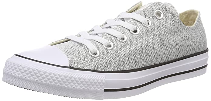 Converse Chuck Taylor (Chucks) All Star Sneaker Unisex Erwachsene Low Top Grau