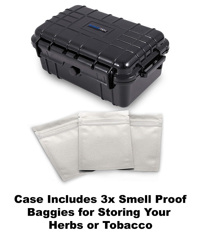 Amazon.com: Smokesafe Maleta mediana antihumedad de 7.5 ...