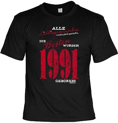 T Shirt Die Besten Wurden 1991 Geboren Lustiges Sprüche Shirt