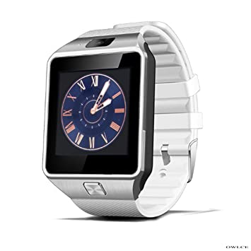 Amazon.com: OWLCE DZ09 Smart Watch Electronics Wristwatch ...