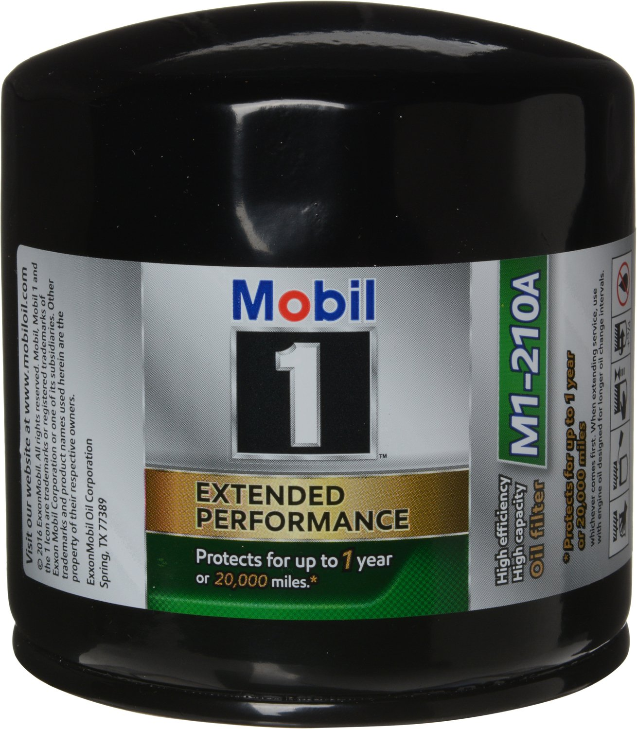 Mobil 1 M1-210A Extended Performance Oil Filter, Pack of 2