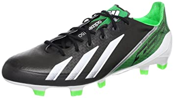 super popular 1e4b8 d2ec1 adidas F50 adizero TRX FG Mens Football Boots - BlackGreen, 6.5 UK,