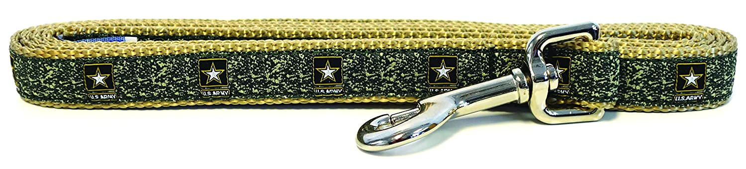 Army SMALL DOGS, 3 4 Inch Width Army SMALL DOGS, 3 4 Inch Width Son Sales, Inc. United States Military Logo Dog Leash (Small Dogs, 3 4 Inch Width, Army)
