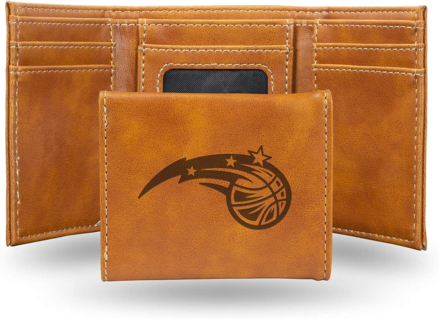 NBA Rico Industries  Laser Engraved Trifold Wallet Dallas Mavericks
