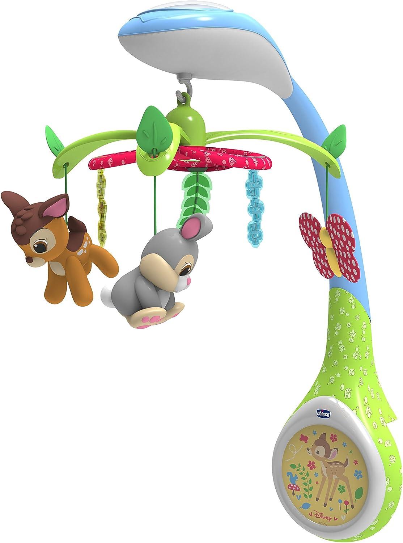 Bambi Bambi-00007156000000 Proyector con Peluche, Multicolor ...