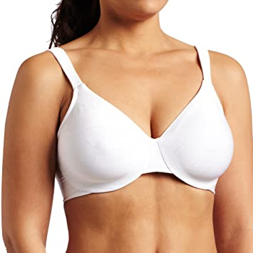 Lilyette by Bali Womens Dream Back Smoothing Jacquard Minimizer Bra - 40DDD -
