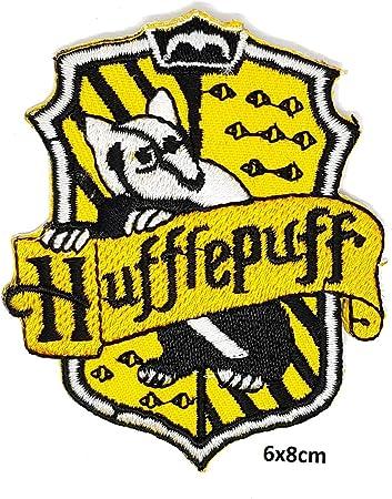 Harry Potter Hufflepuff Iron//Sew On Patch