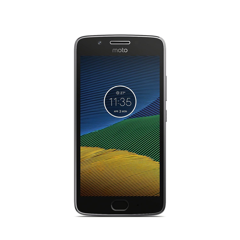 """Motorola Moto G 5 5"""" 4G 3GB 16GB 2800mAh Gris - Smartphone (12,7 cm (5""""), 16 GB, 12 MP, Android, 7.0, Gris)"""