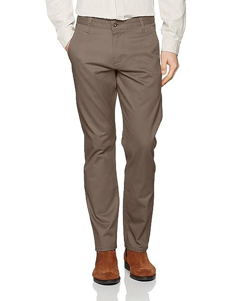 Alpha Khaki Tapered Stretch Twill - Pantalones para hombre, color azul (stretch - pembroke), talla W28/L32 Dockers