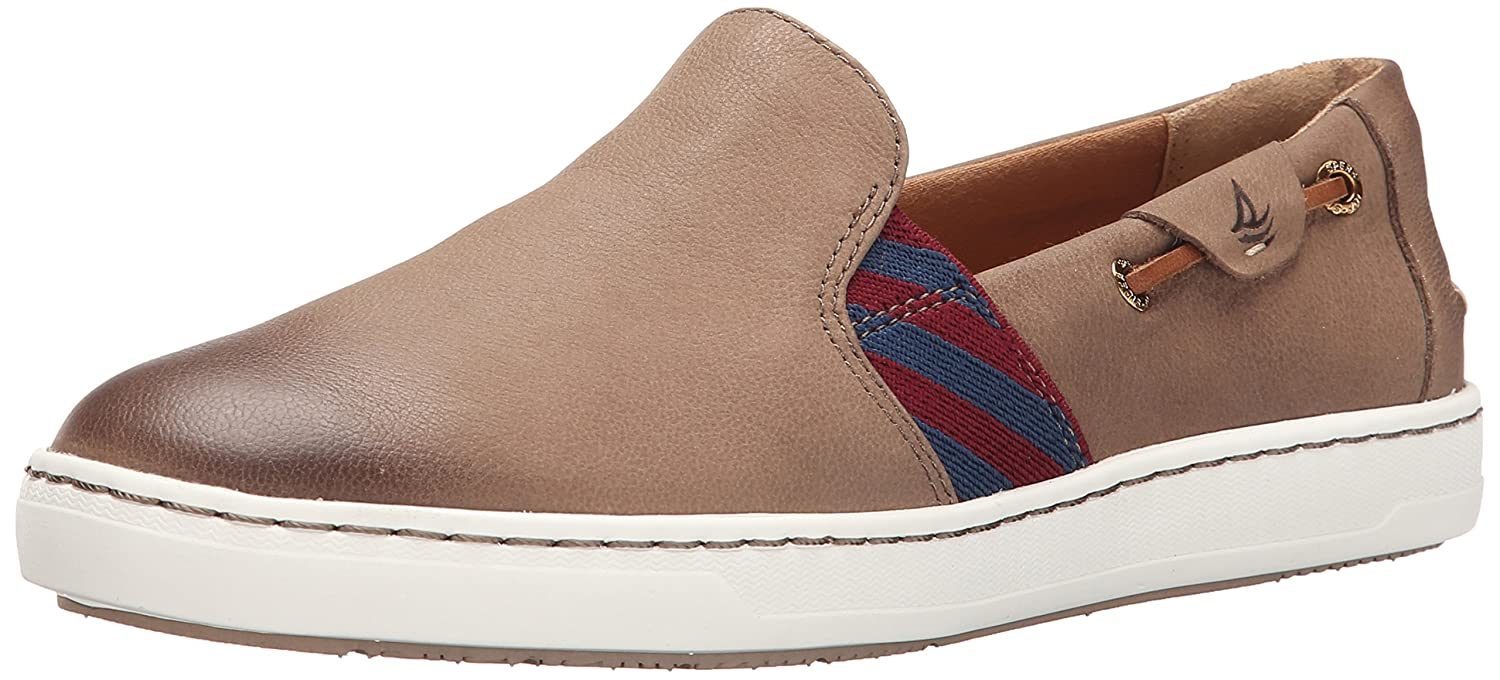 Amazon.com | Sperry Top-Sider Women's Harbor View Boat Shoe, Greige, 5.5 M  US | Loafers & Slip-Ons