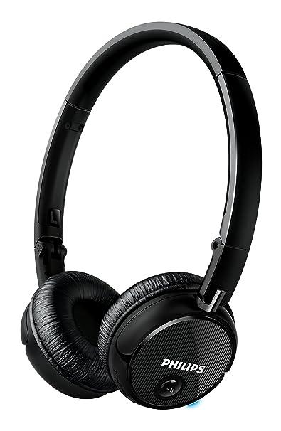 0397e7e5271 Philips SHB6250/00 - Auriculares de diadema cerrados on-ear (Bluetooth,  NFC, 50 mW) color negro: Amazon.es: Electrónica