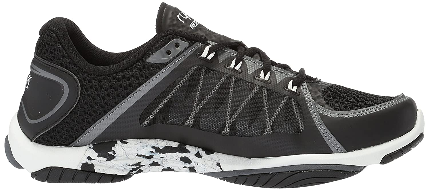 Ryka Women's Influence 2.5 Cross Trainer B07575BL4D 8.5 B(M) US|Black/Meteorite/White