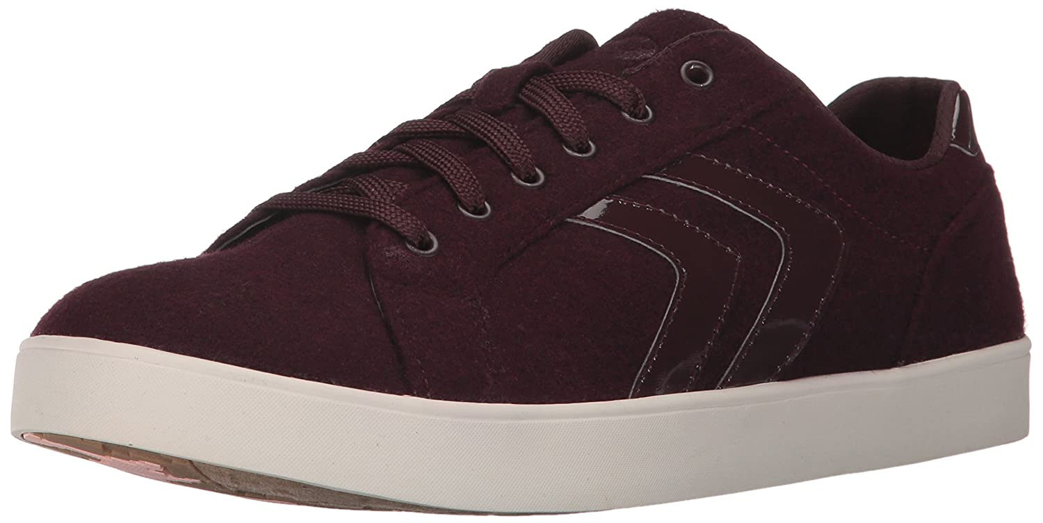 Dr. Scholl's Shoes Women's Madi Chevron Fashion Sneaker B06XN68W52 8.5 B(M) US|Merlot Swartz Fabric