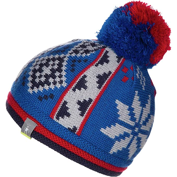 76f46128fd2208 Amazon.com: SmartWool Kids' Snowflake Beanie: Sports & Outdoors