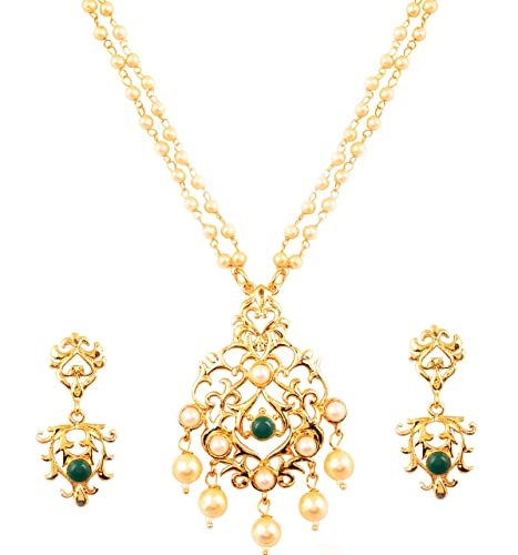 Bridal & Wedding Party Jewelry Jewelry & Watches Ethnic Indian Traditional Gold Tone Kundan Pendent Necklace Set Women Jewellery Reasonable Price