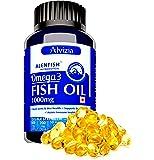 ALENFISH Alvizia's Fish Oil 1000 mg EPA 330 DHA 220 (60 Softgel Capsules)