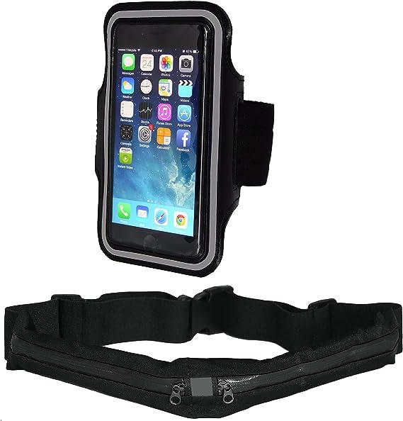 Red Sport Running Belt Waist Pack Touch Screen Window Samsung S3//S4//S5 Mini
