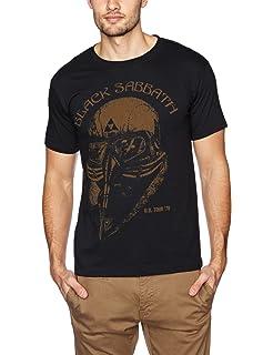 29fb9dee5301 Black Sabbath Men's Tour 78 T-Shirt X-Large Black: Amazon.co.uk ...
