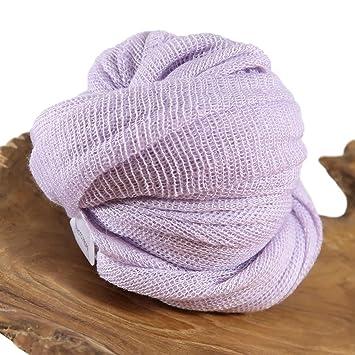 Amazon Com Light Purple Stretch Wrap Newborn Baby Photo Prop
