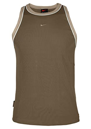 a3d49a9b4122 Men Nike Sports Running Vest Shirt Top T-Shirt Gym Training Tee Fitted  Muscle S  Amazon.co.uk  Clothing