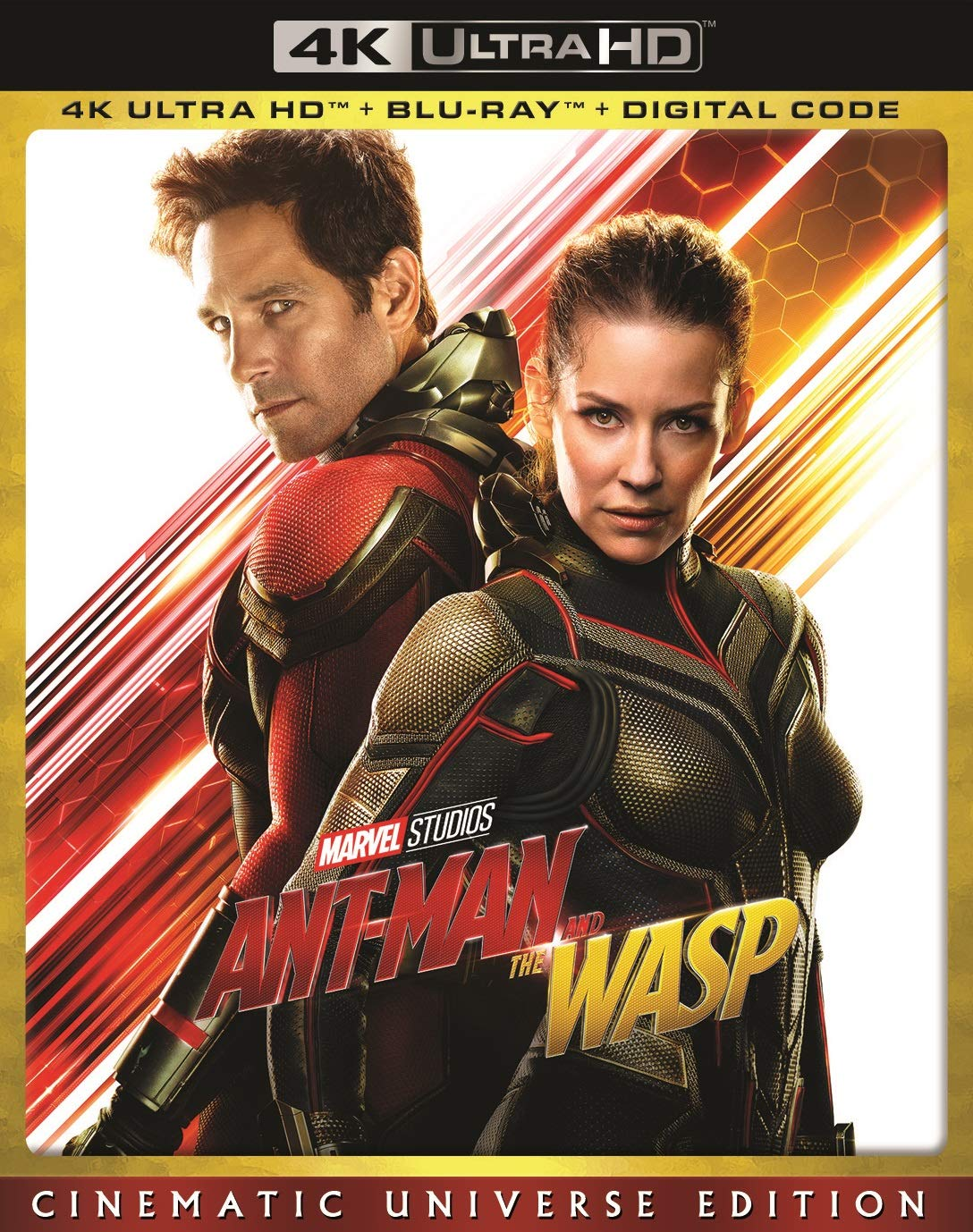 4K Blu-ray : Ant-man And The Wasp (With Blu-ray, 4K Mastering, 2 Pack, Dolby, AC-3)