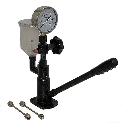 Dispositivo de ajuste de prueba para boquillas de inyección diesel abdrück dispositivo Uno Detector inyectores otro