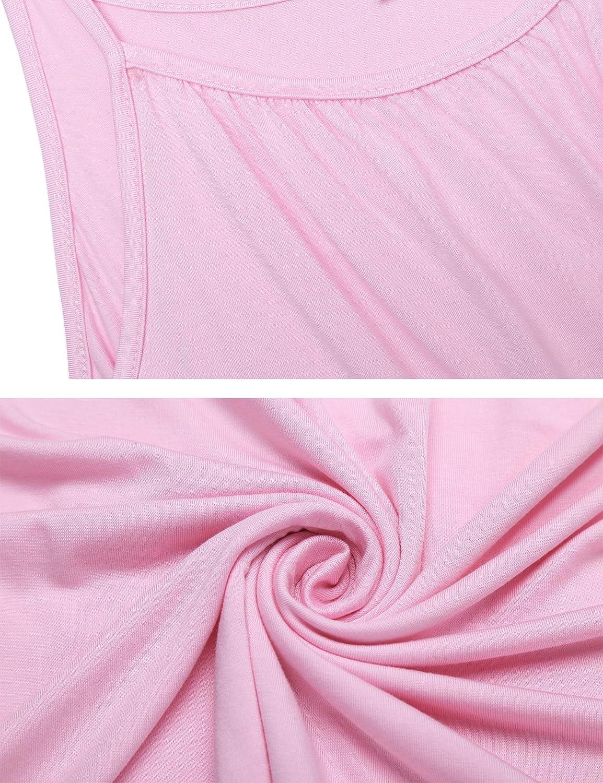 Unibelle Stillnachthemd Geburtskleid Stillpyjama Umstandsnachthemd kurz Sommer Lagendesign Wickeln-Schicht