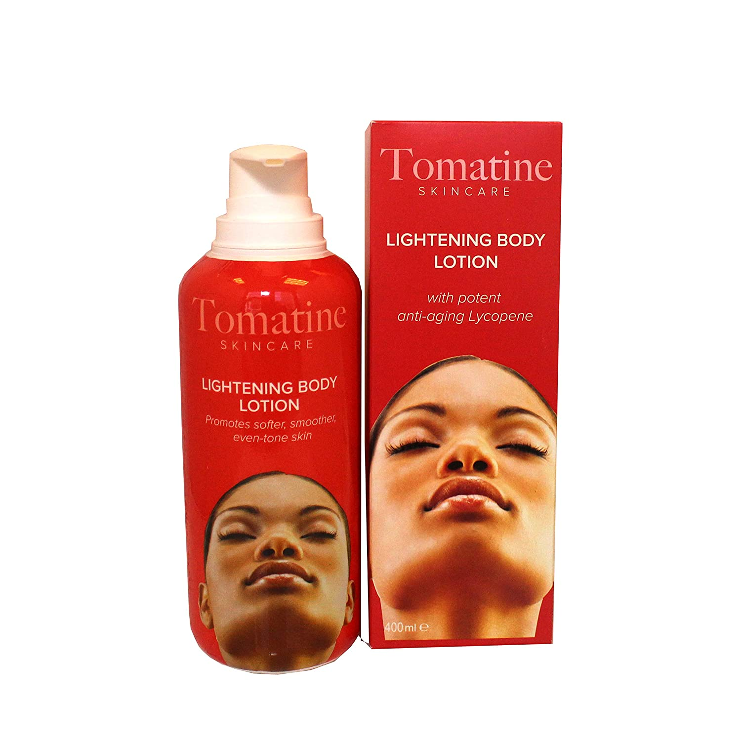 Tomatine Lightening Body Lotion 400ml - Formulate to Hydrate and Moistures Skin, Lightening Properties