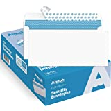 #10 Security Self-Seal Envelopes, Windowless Design, Premium Security Tint Pattern, Ultra Strong Quick-Seal Closure - EnveGua