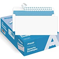 #10 Security SELF-Seal Envelopes, Windowless Design, Premium Security Tint Pattern for Secure Mailing, Ultra Strong…